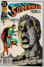 Superman #39 comic book near mint 9.4