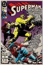 Superman #40 comic book near mint 9.4