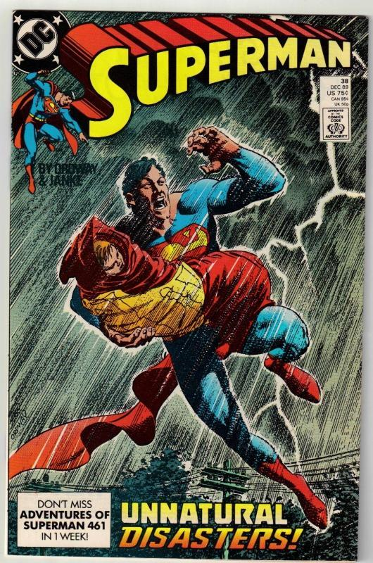 Superman #38 comic book near mint 9.4