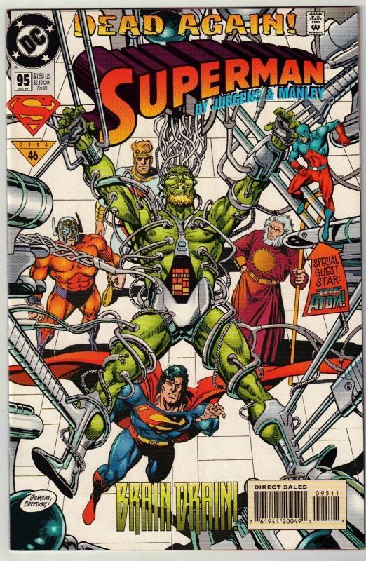 Superman #95 comic book mint 9.8