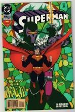 Superman #97 comic book near mint 9.4