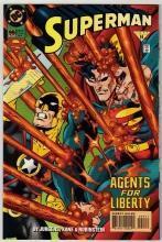 Superman #99 comic book near mint 9.4