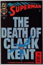 Superman #100 (Death of Clark Kent) comic book mint 9.8