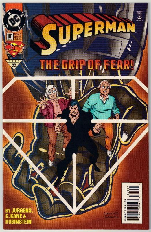Superman #101 comic book near mint 9.4