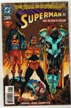 Superman #107 comic book near mint 9.4