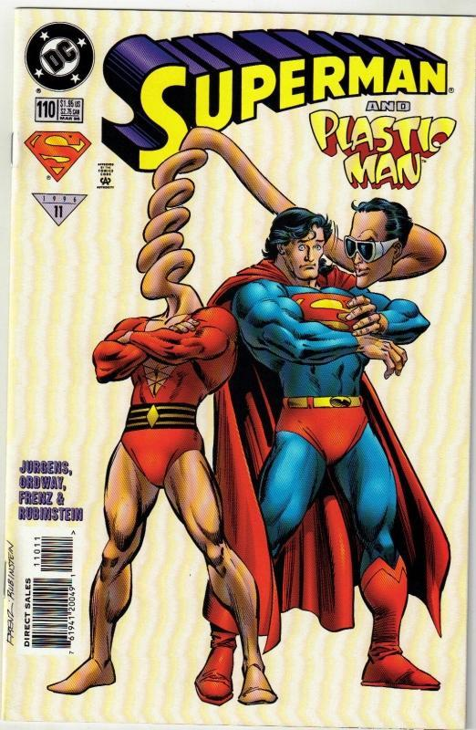Superman #110 comic book mint 9.8