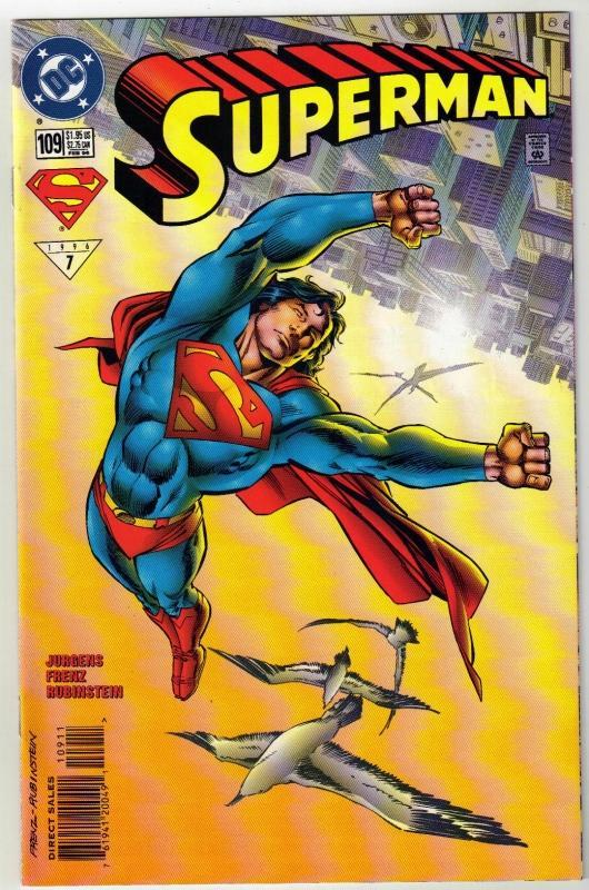 Superman #109 comic book mint 9.8