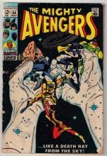 Avengers #64 comic book good/very good 3.0
