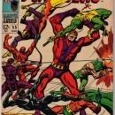 Avengers #55 comic book good/very good 3.0