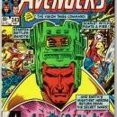 Avengers #243 comic book mint 9.4