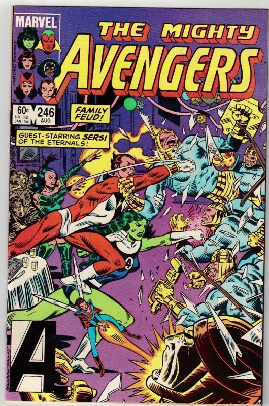 Avengers #246 comic book mint 9.8