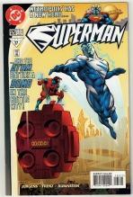 Superman #125 comic book near mint 9.4