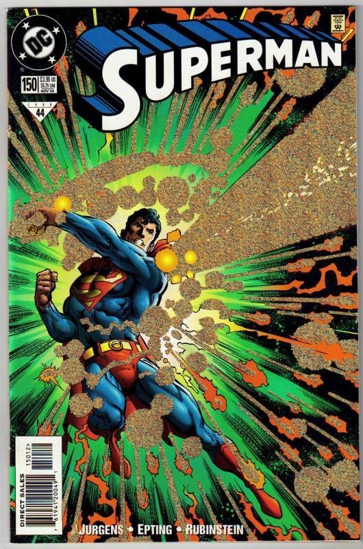 Superman #150 comic book near mint 9.4