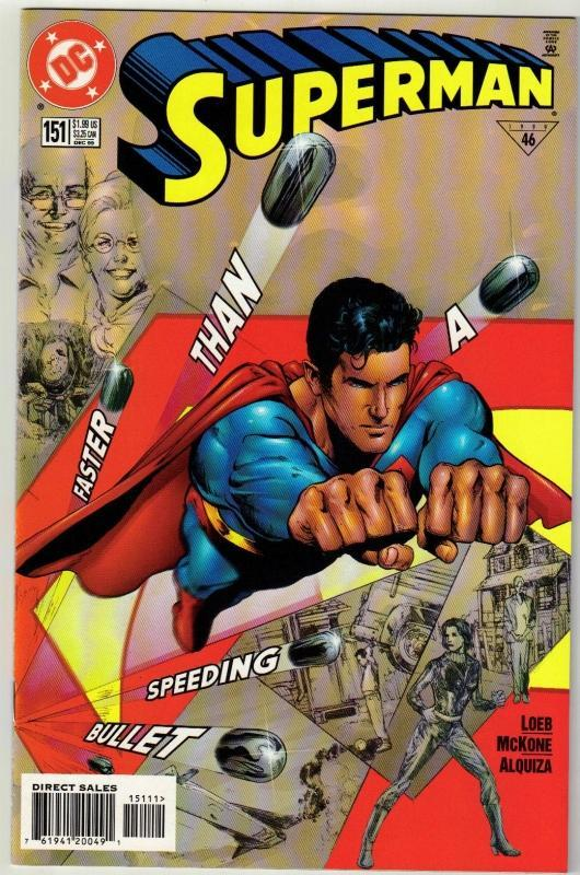 Superman #151 comic book mint 9.8