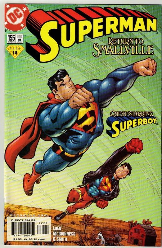 Superman #155 comic book mint 9.8