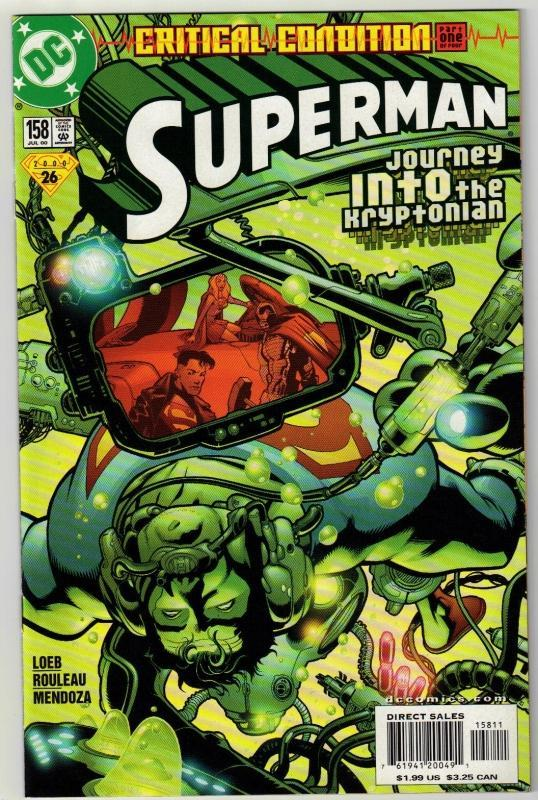 Superman #158 comic book mint 9.8