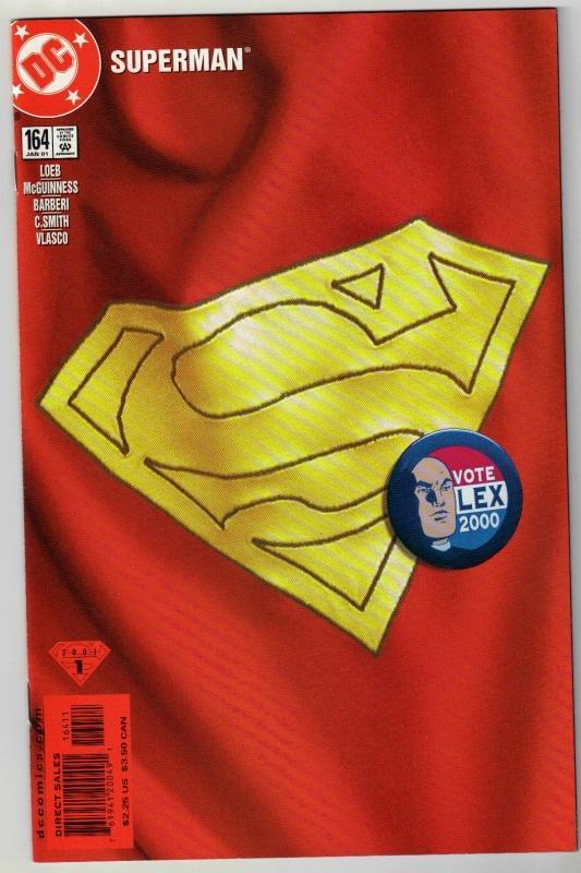 Superman #164 comic book mint 9.8