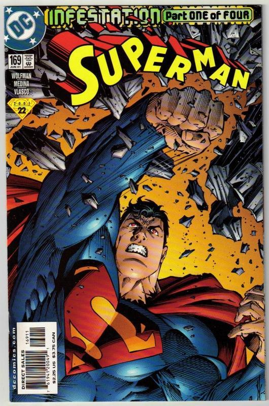 Superman #169 comic book mint 9.8