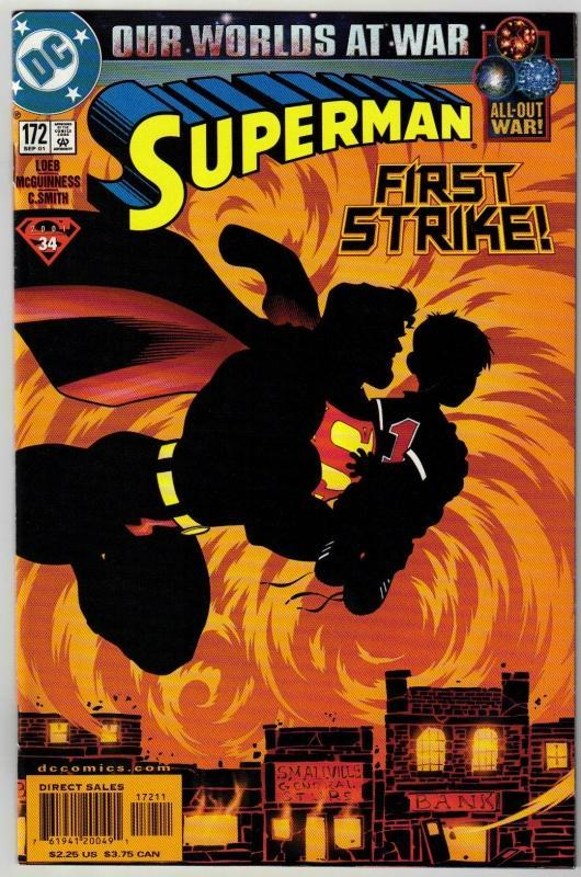 Superman #172 comic book mint 9.8