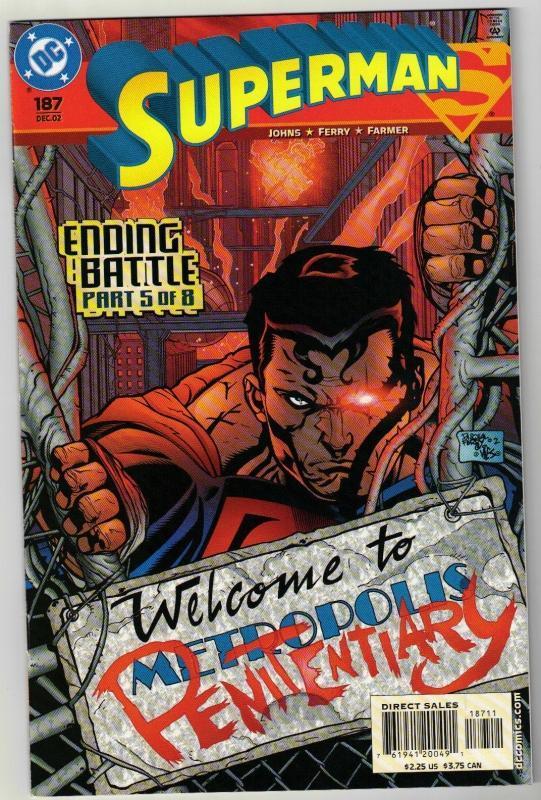 Superman #187 comic book mint 9.8