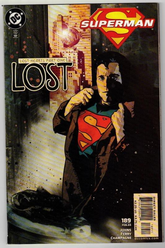 Superman #189 comic book mint 9.8