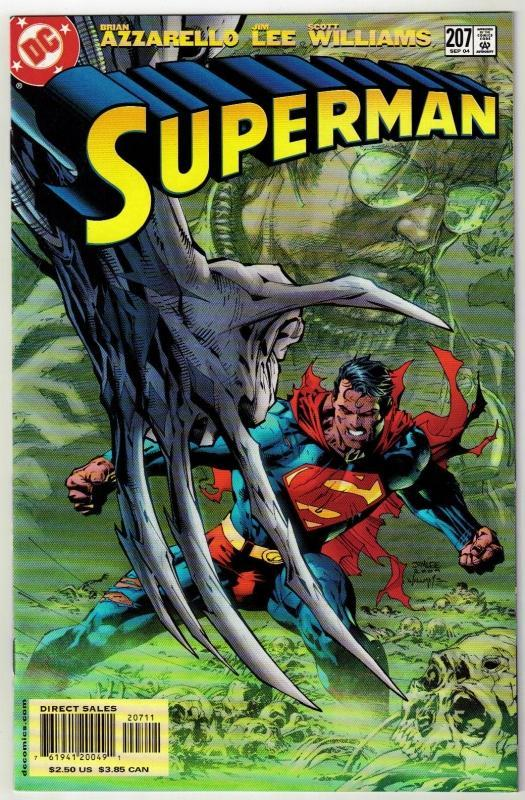 Superman #207 comic book near mint 9.4