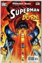 Superman #218 comic book near mint 9.4