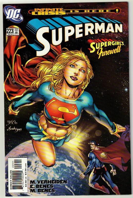 Superman #223 comic book mint 9.8