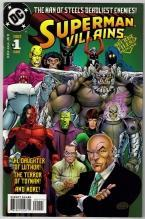 Superman Villains #1 comic book mint 9.8