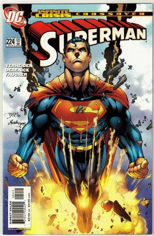 Superman #224 comic book near mint 9.4