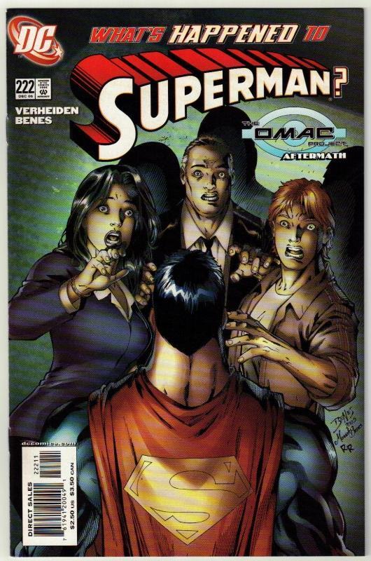Superman #222 comic book mint 9.8