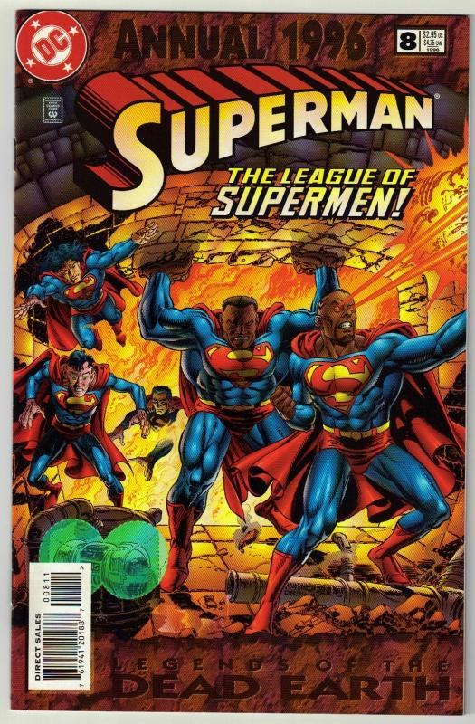 Superman Annual #8 comic book mint 9.8