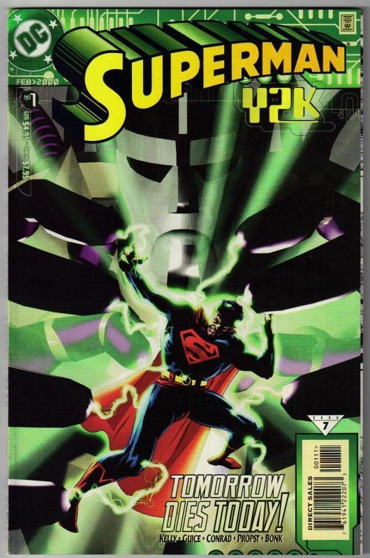 Superman Y2K comic book mint 9.8