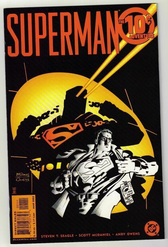 Superman The 10 cent Adventure comic book mint 9.8