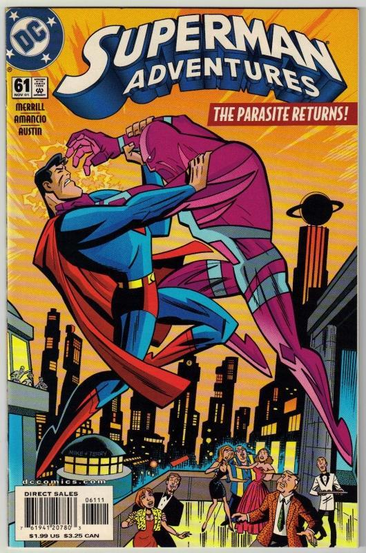 Superman  Adventures #61 comic book mint 9.8