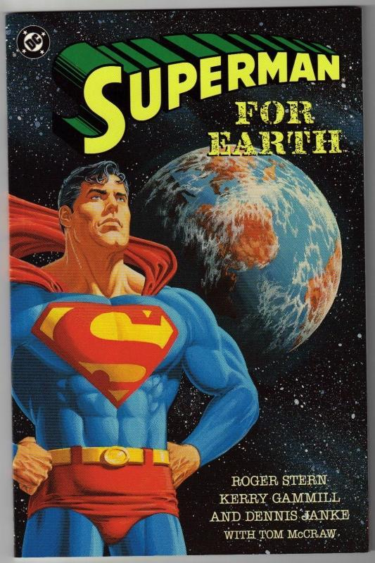 Superman  For Earth comic book mint 9.8