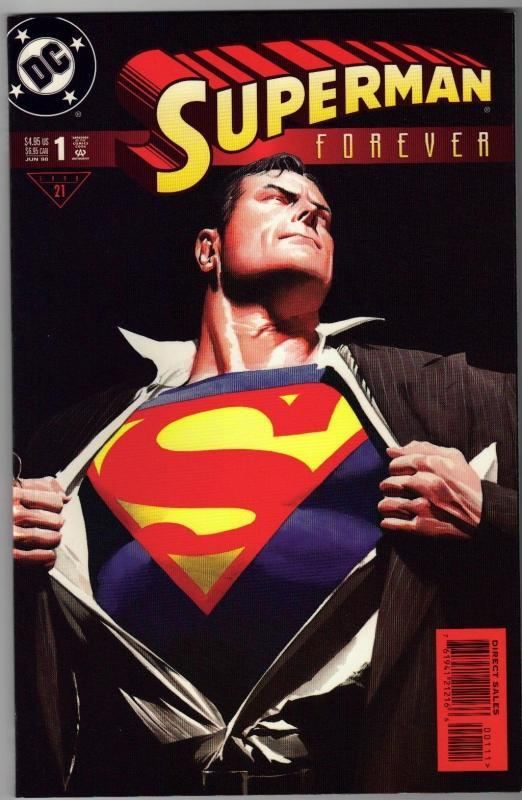 Superman  Forever #1 comic book mint 9.8