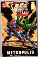 Superman  Savage Dragon Metropolis comic book mint 9.8