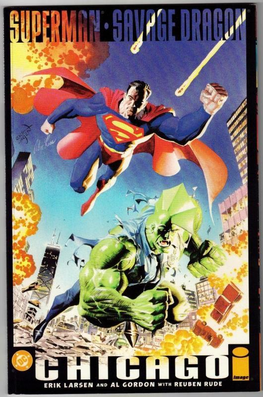 Superman  Savage Dragon Chicago comic book mint 9.8