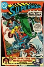 Superman Radio Shack issue  comic book near mint 9.4
