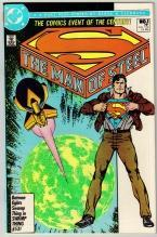 The Man of Steel #1 comic book near mint 9.4