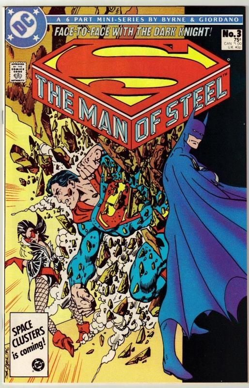 The Man of Steel #3 comic book near mint 9.4