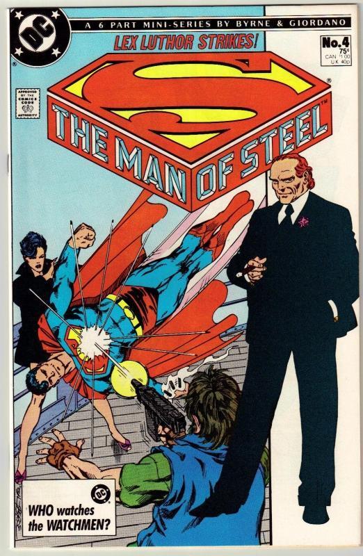 The Man of Steel #4 comic book near mint 9.4