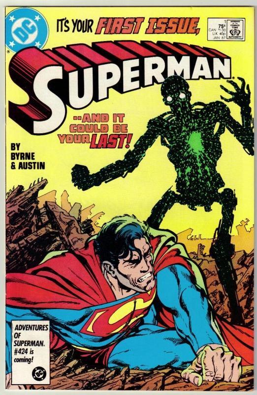 Superman  #1 comic book mint 9.8
