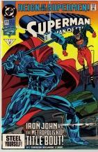 Superman  The Man of Steel #23 comic book near mint 9.4