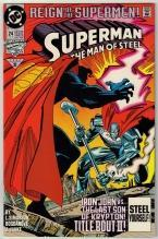 Superman  The Man of Steel #24 comic book near mint 9.4