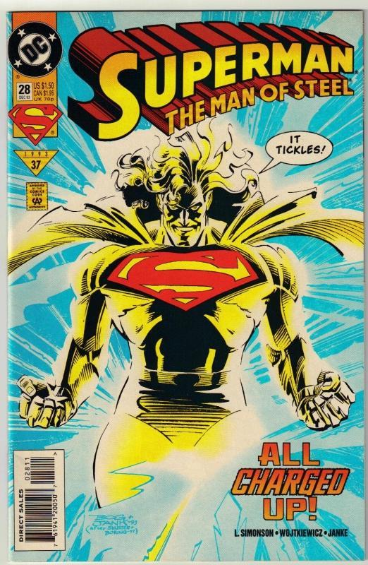 Superman  The Man of Steel #28 comic book mint 9.8