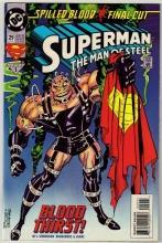 Superman  The Man of Steel #29 comic book mint 9.8