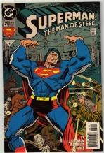 Superman  The Man of Steel #31 comic book mint 9.8