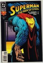 Superman  The Man of Steel #33 comic book mint 9.8